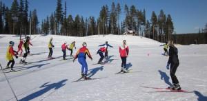 Vinterskidskolan våren 2012