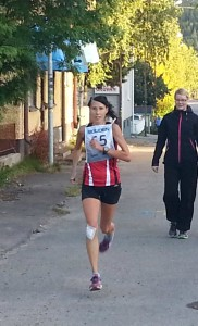 Cornelia Henriksson slår banrekord på 6,5 km banan